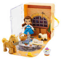 Image of Disney Animators' Collection Belle Mini Doll Play Set # 1
