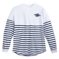 Image of Disney Cruise Line Spirit Jersey for Adults - White/Navy # 1