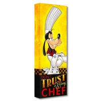 Goofy ''Don't Trust a Skinny Chef'' Giclée on Canvas by Tim Rogerson