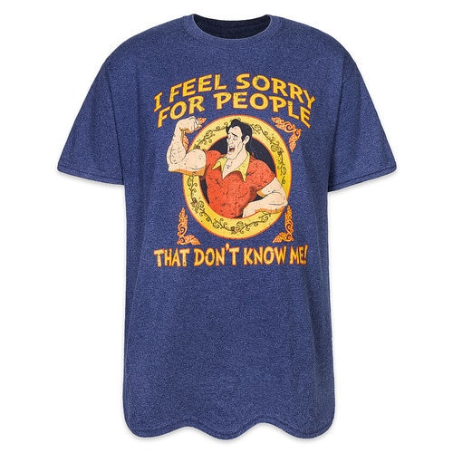 5ad8c0794e9e Gaston T-Shirt for Adults - Beauty and the Beast