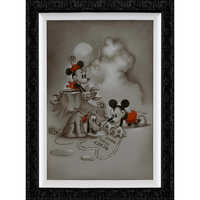 Image of Mickey and Minnie Mouse ''Mickey Loves Minnie'' Giclée by Noah # 2