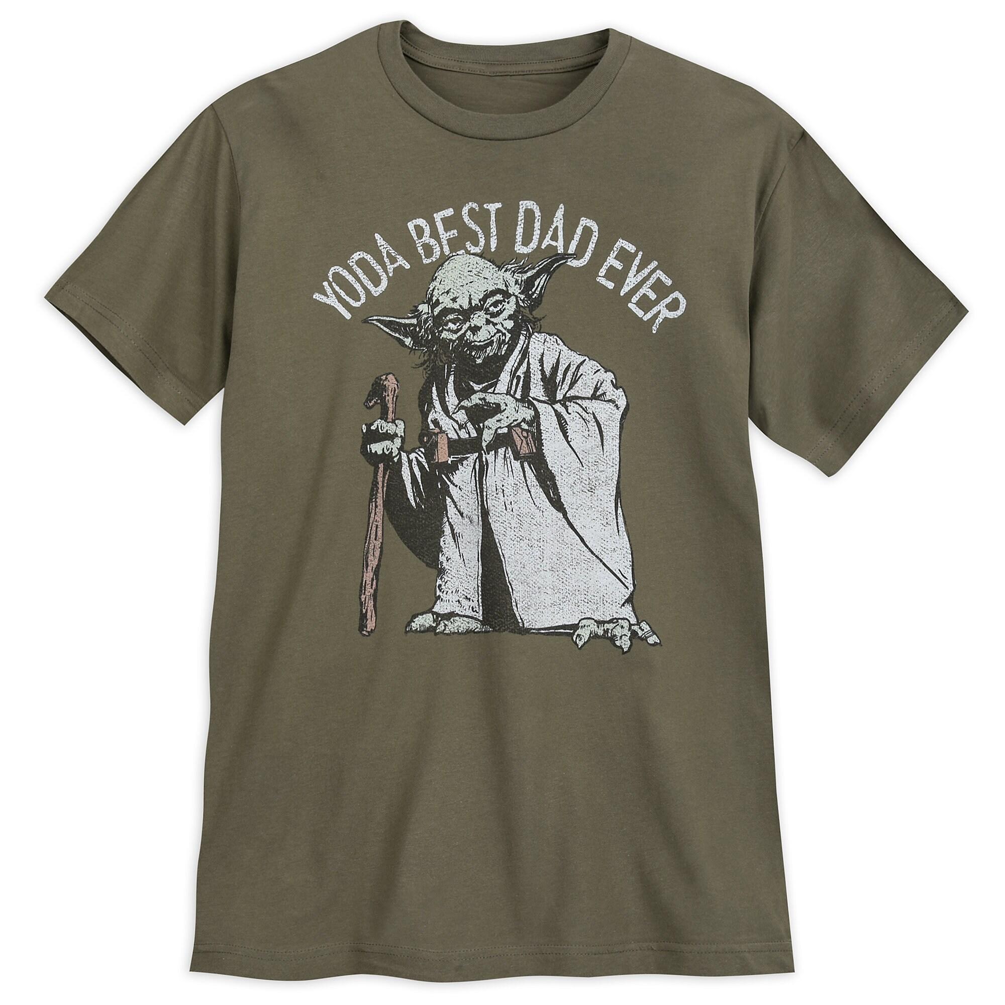 c25bcf130 Yoda ''Best Dad Ever'' T-Shirt for Men - Star Wars   shopDisney