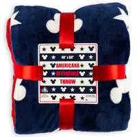 Image of Mickey Mouse Americana Reversible Throw # 3