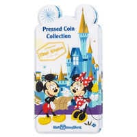 Image of Mickey Mouse and Friends Pressed Coin Collection Holder - Walt Disney World # 3