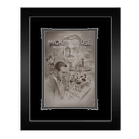 Image of Steamboat Willie ''Full Steam Ahead'' Framed Deluxe Print by Noah # 1