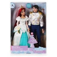 Image of Ariel and Eric Classic Wedding Doll Set - The Little Mermaid # 3
