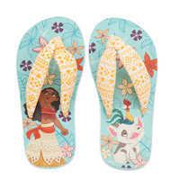 Image of Moana Flip Flops for Kids # 2