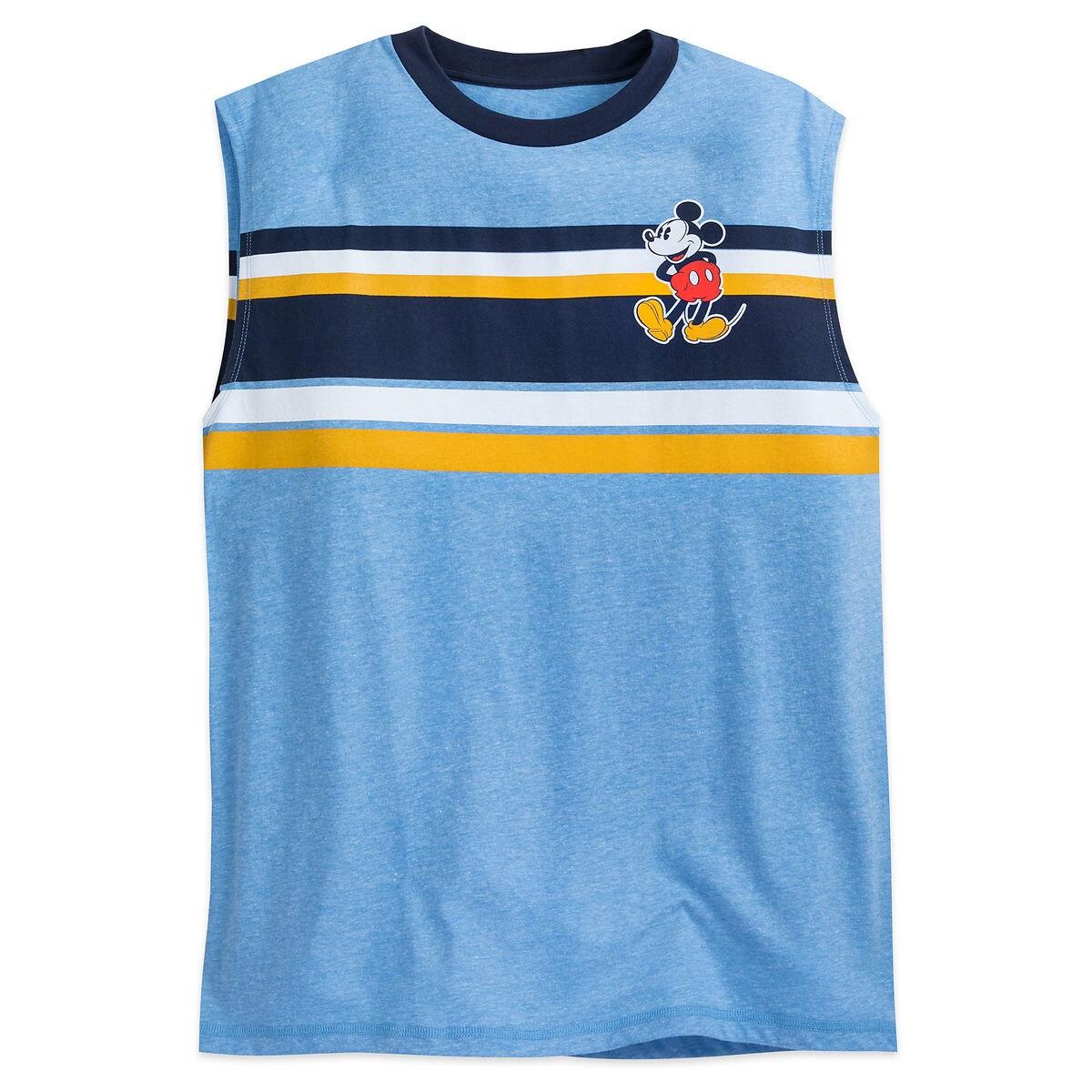 Mickey Mouse Sleeveless T Shirt For Men Summer Fun Shopdisney