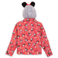 Image of Minnie Mouse Hooded Denim Jacket for Girls # 3