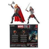 Image of Thor and Sif Action Figure Set - Legends Series - Marvel Studios 10th Anniversary # 8