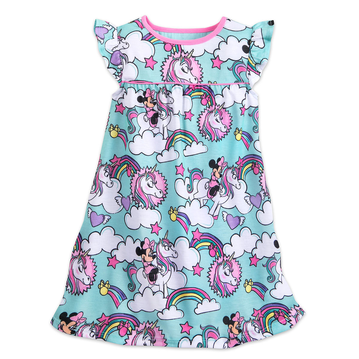 89c09c27f70a Minnie Mouse Unicorn Nightshirt for Girls