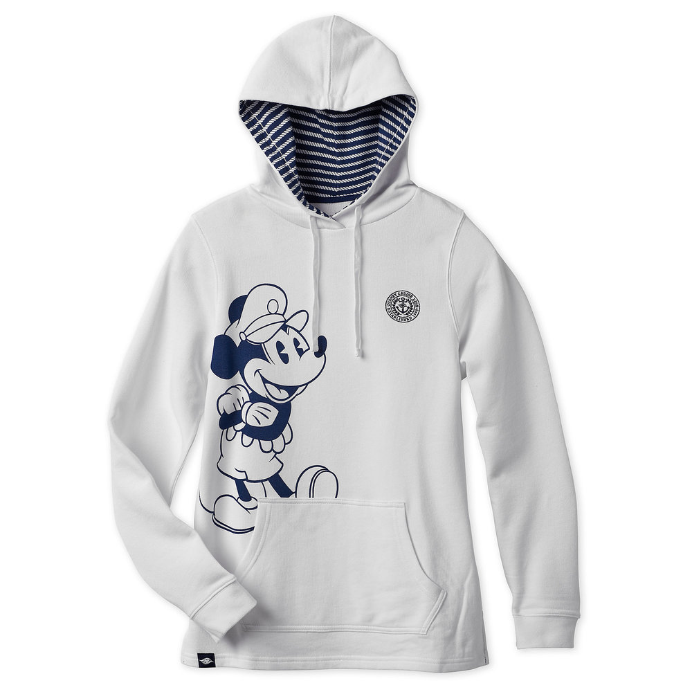Mickey Mouse Pullover Hoodie for Women - Disney Cruise Line