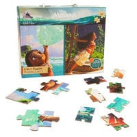 Image of Moana Two-in-One Deluxe Puzzle Set # 1