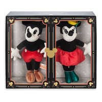 Image of Mickey and Minnie Mouse Collectible Plush Doll Set - Limited Release # 10