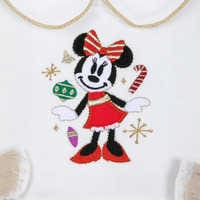 Image of Minnie Mouse Holiday Tutu Dress and Leggings Set for Baby # 4
