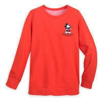 Image of Mickey Mouse Pullover Sweatshirt for Women - Walt Disney Studios # 1