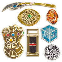 Image of Marvel Studios 10th Anniversary Limited Edition Pin Set # 1