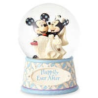 Image of Mickey & Minnie Mouse ''Happily Ever After'' Snowglobe - Jim Shore # 3