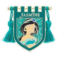 Image of Jasmine Banner Pin # 1
