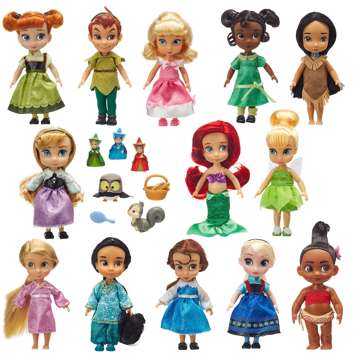 7b2a64857b6 Product Image of Disney Animators  Collection Mini Doll Gift Set - 5