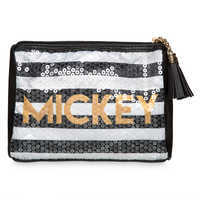 Image of Mickey The True Original Sequined Pouch # 1