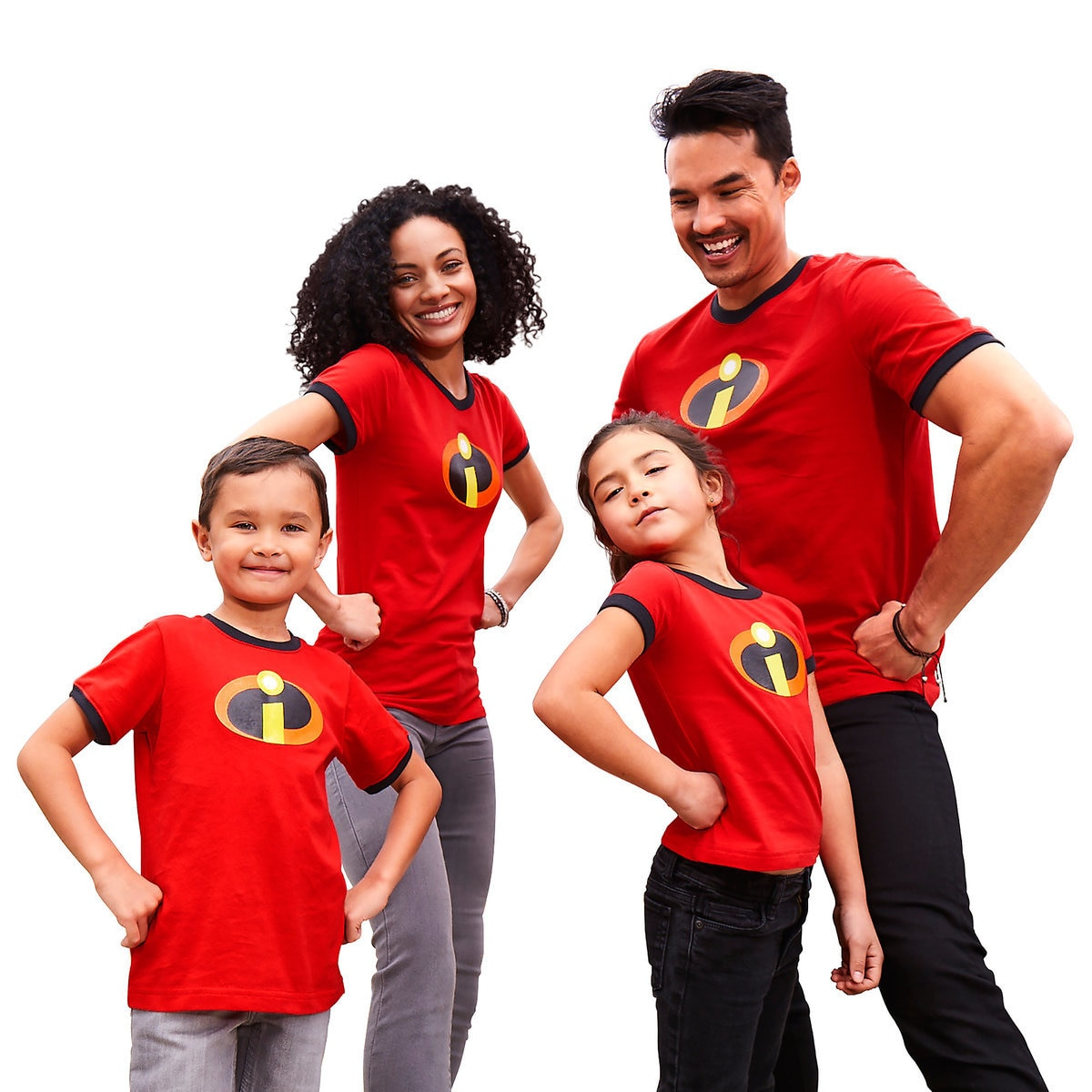 69f76a34 Product Image of Incredibles 2 Logo Ringer T-Shirt Family Collection # 1