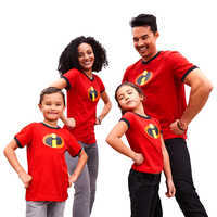 Image of Incredibles 2 Logo Ringer T-Shirt Family Collection # 1