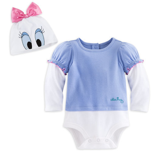 Daisy Duck Bodysuit Costume Set for Baby ? Personalizable