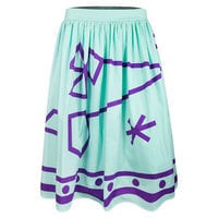 Image of Mad Tea Party Skirt for Women by Her Universe - Teal # 1
