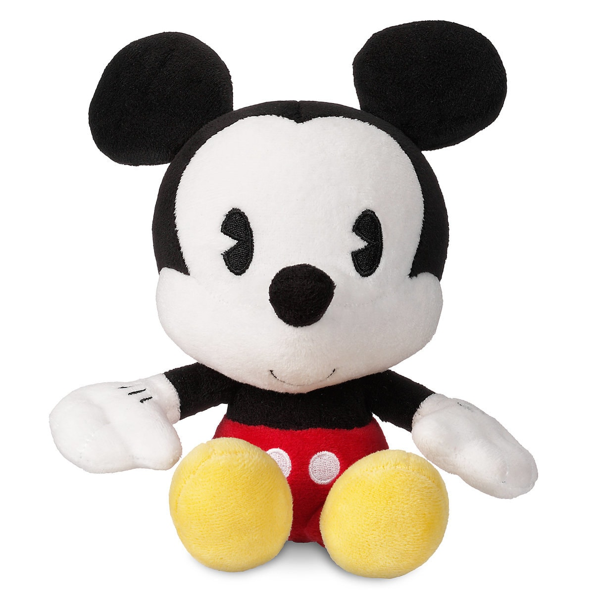 Product Image of Mickey Mouse Bobble Head Plush - Small - 8'' # 1