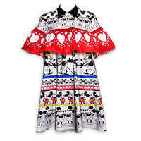 Image of Mickey Mouse Ruffled Dress for Women by Sugarbird # 1