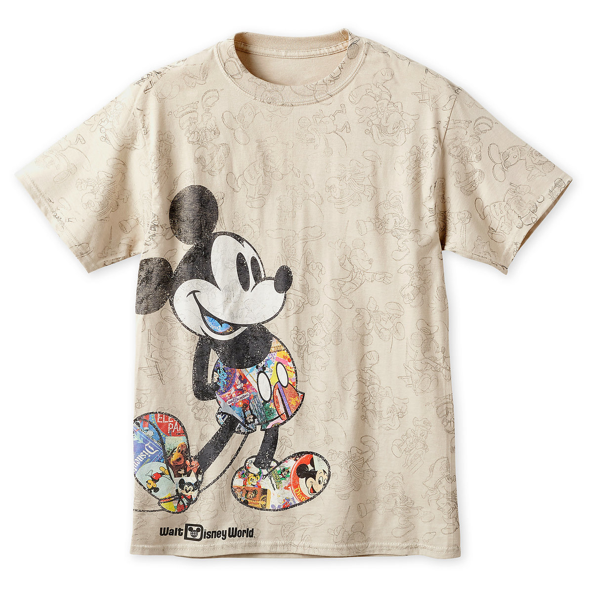 cda3e30d Product Image of Mickey Mouse Through the Years T-Shirt for Men - Walt  Disney