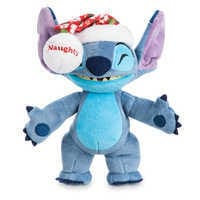 Image of Stitch Poseable Plush and ''Holiday Mischief with Stitch'' Book Set # 2