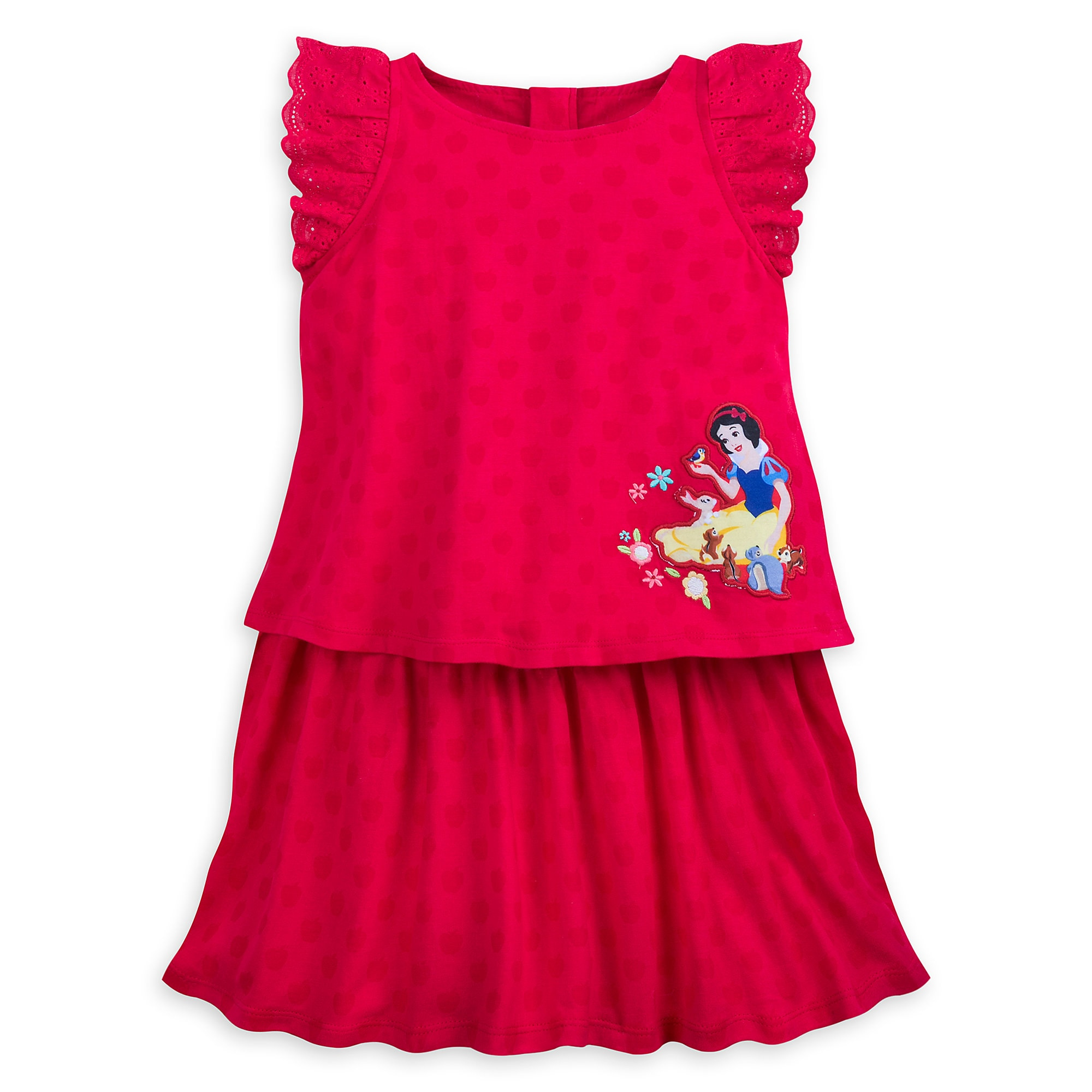 Snow White Knit Dress for Girls