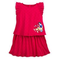Image of Snow White Knit Dress for Girls # 1