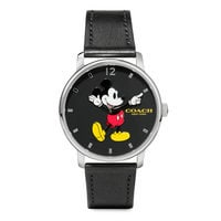 Mickey Mouse Grand Leather Watch by COACH