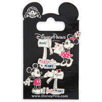 Image of Mickey and Minnie Mouse Sweethearts Pin Set # 2