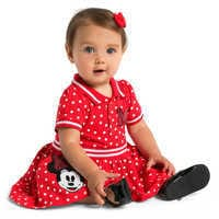 Image of Minnie Mouse Red Polka Dot Dress for Baby # 2