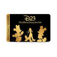 Image of D23 Gold Family Membership # 1