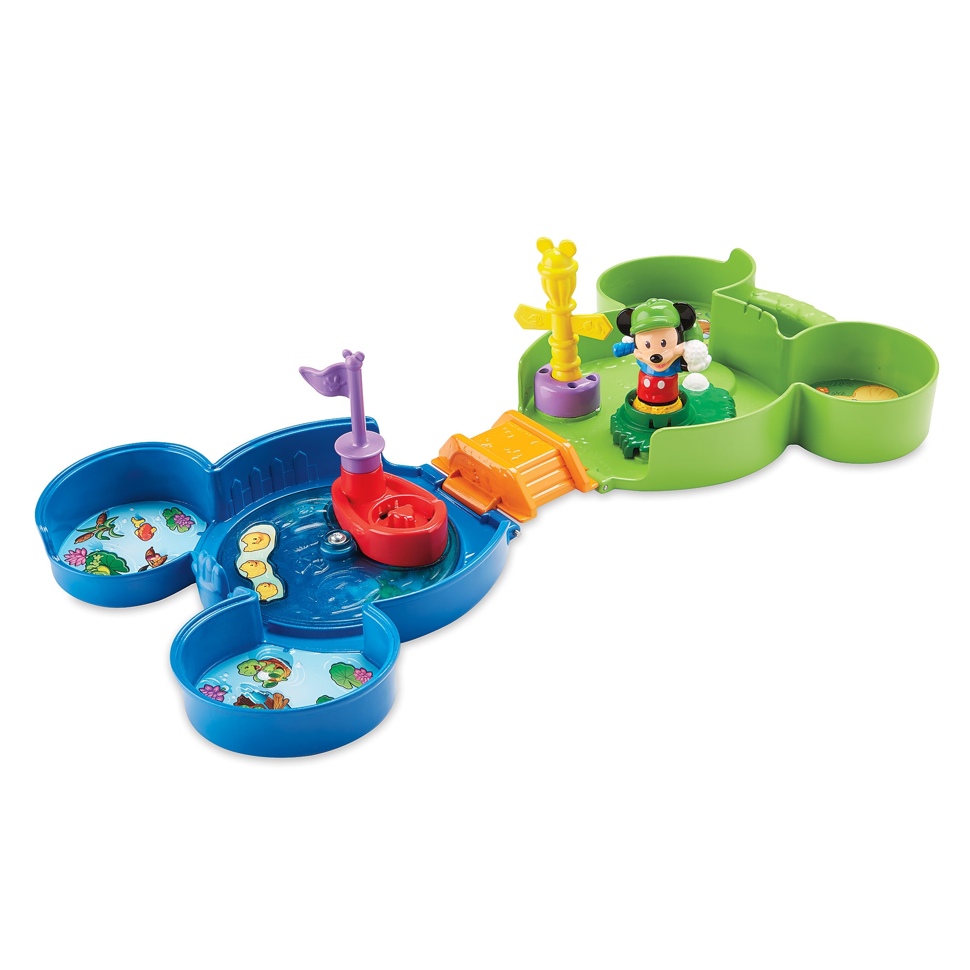 Mickey's Fold 'n Go Golf Play Set - Fisher-Price