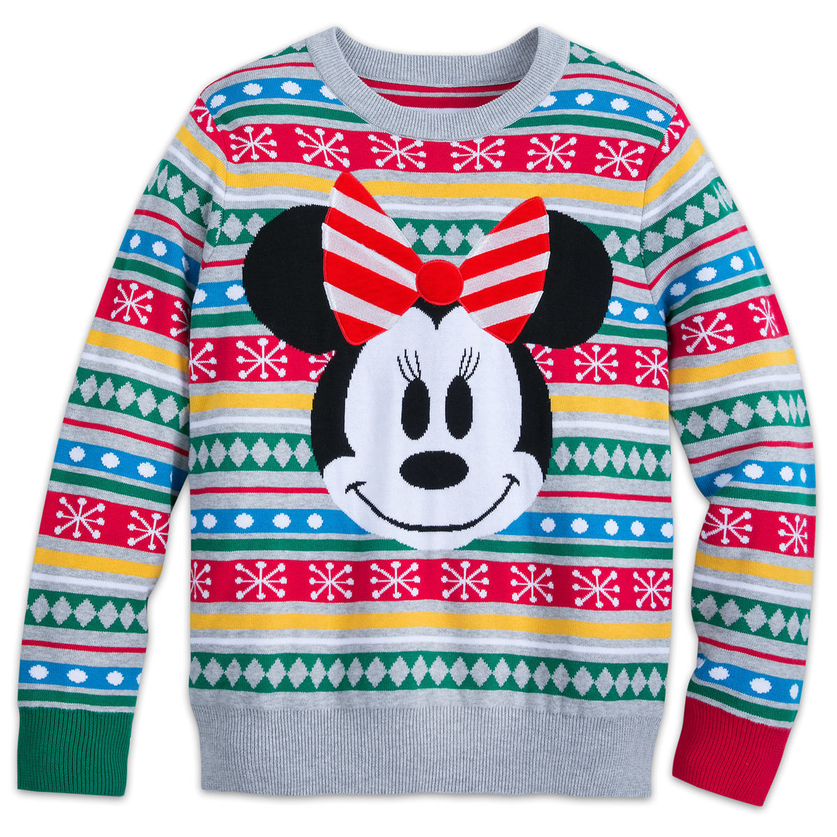 Minnie Mouse Family Holiday Sweater For Women Shopdisney