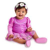Image of Rapunzel Costume Bodysuit Set for Baby # 2