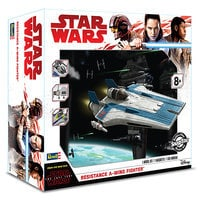 Image of Resistance A-Wing Fighter Model Kit - Star Wars: The Last Jedi # 5