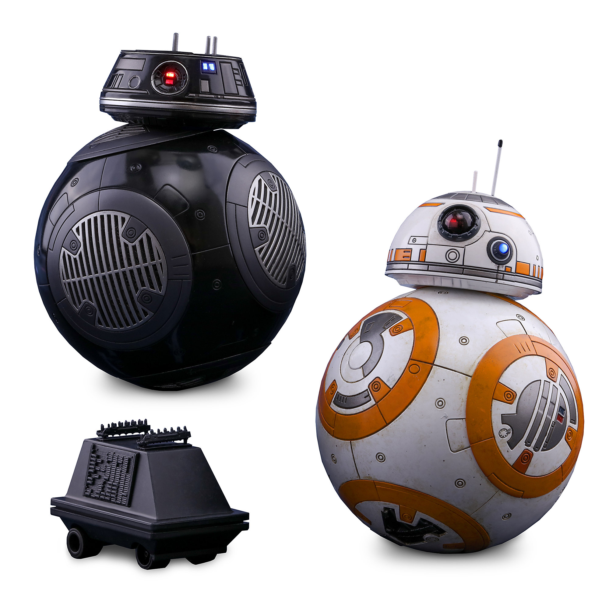 BB-8 and BB-9E Sixth Scale Figure Set by Hot Toys - Star Wars