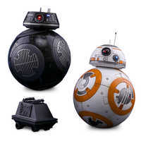 Image of BB-8 and BB-9E Sixth Scale Figure Set by Hot Toys - Star Wars # 1
