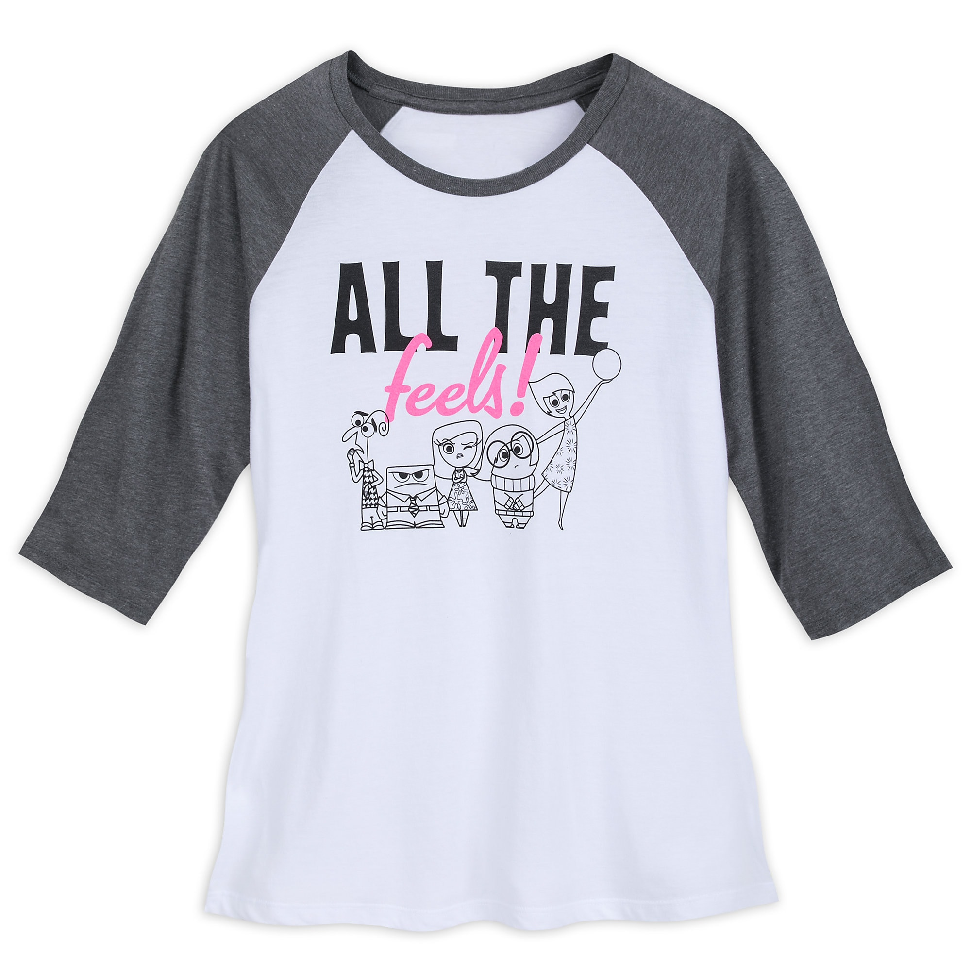 Inside Out Raglan T-Shirt for Women