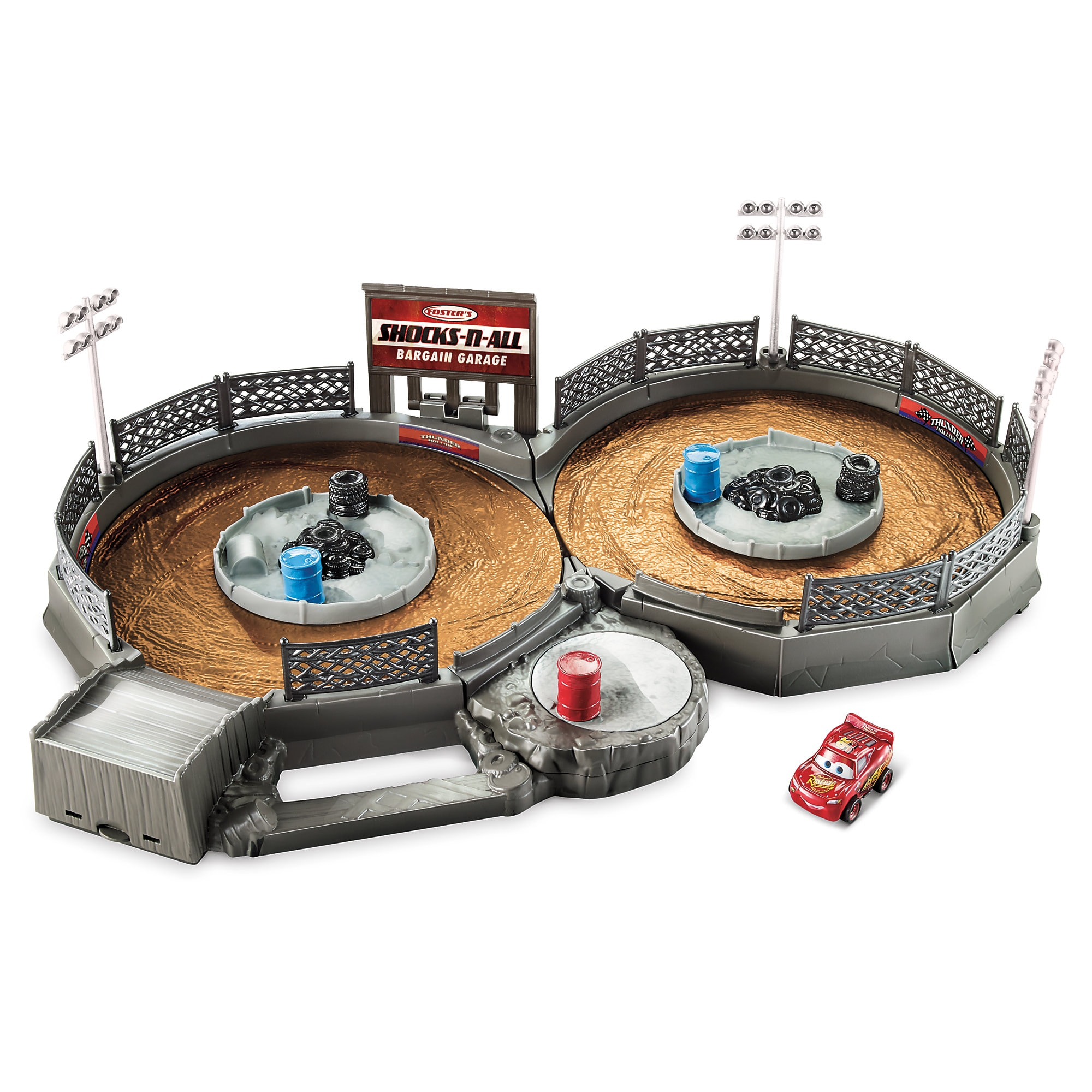 Cars Mini Racers Crank & Crash Derby Playset