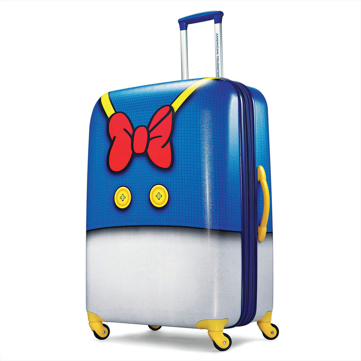 donald duck luggage american tourister large shopdisney