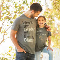 Image of The Mickey Mouse Club Mouseketeer Text T-Shirt for Adults # 2