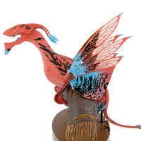Image of Pandora - The World of Avatar Interactive Banshee Toy - Red/Blue Variant # 3